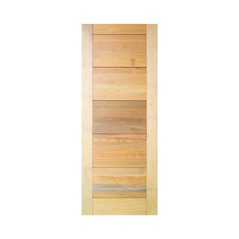 Porta de madeira maciça pm ibiza 529 - 90x210cm