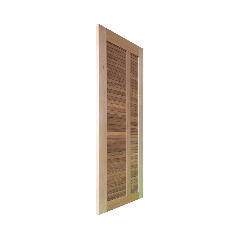 Porta de madeira maciça pm line 01 511 - 80x210cm