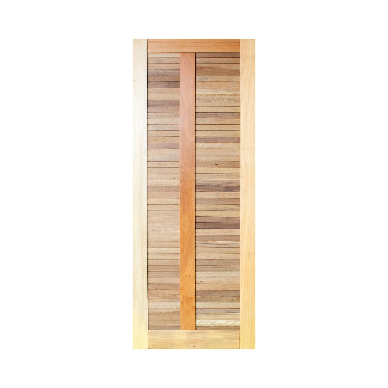 Porta de madeira maciça pm line 02 508 - 80x210cm