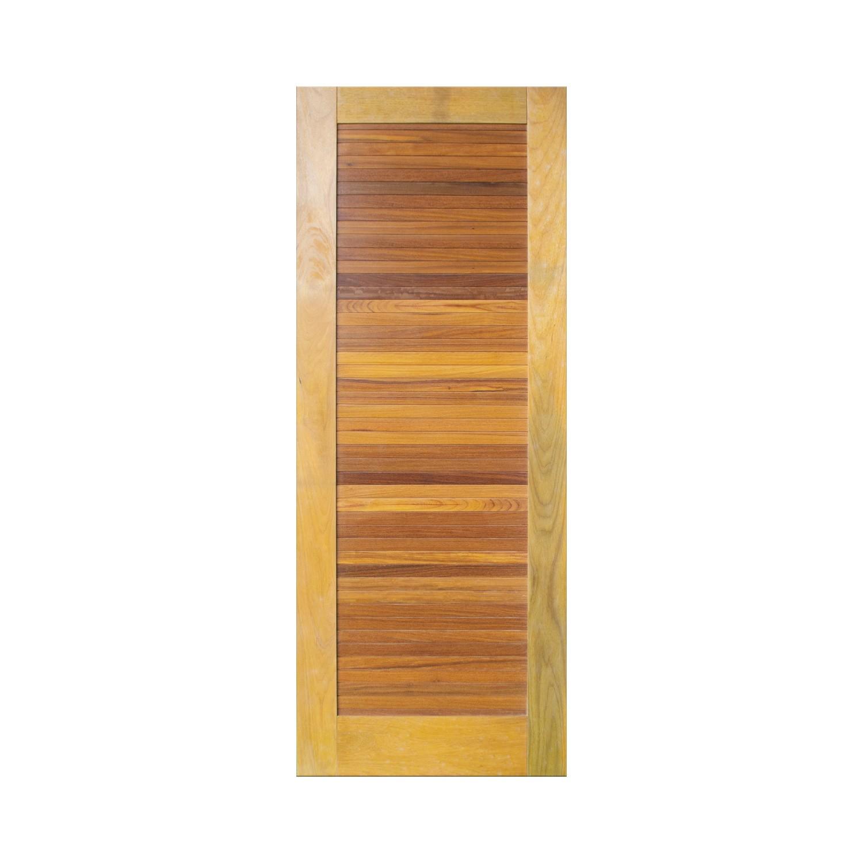 Porta de madeira maciça pm line 513 - 80x210cm