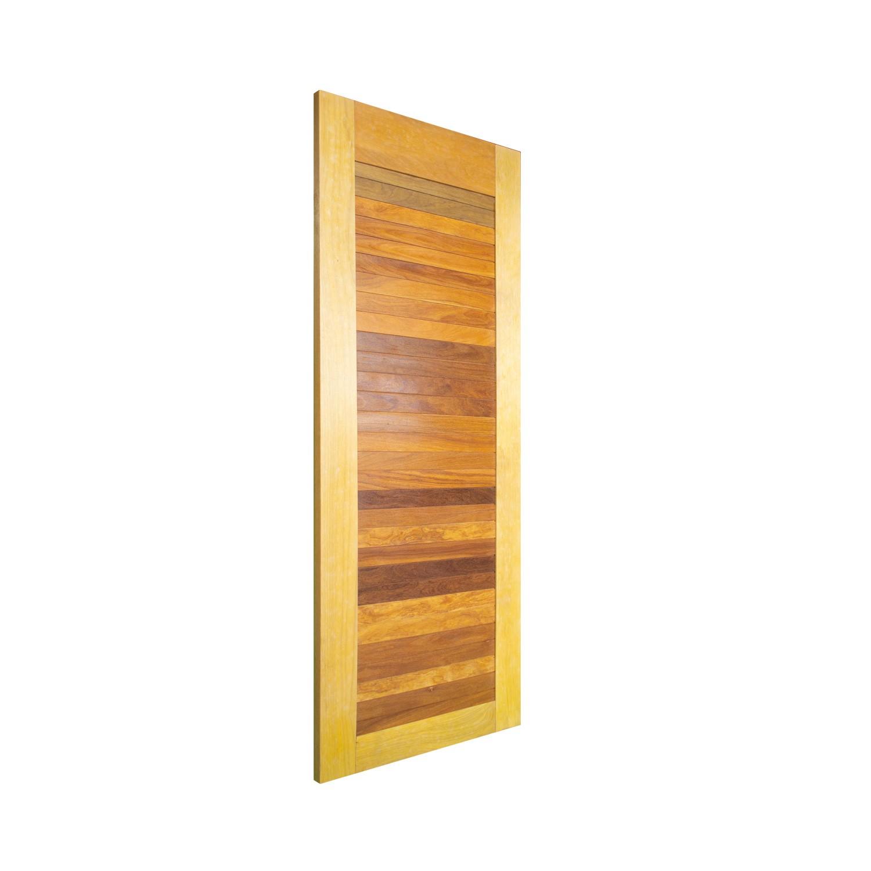 Porta de madeira maciça pm line 514 - 80x210cm