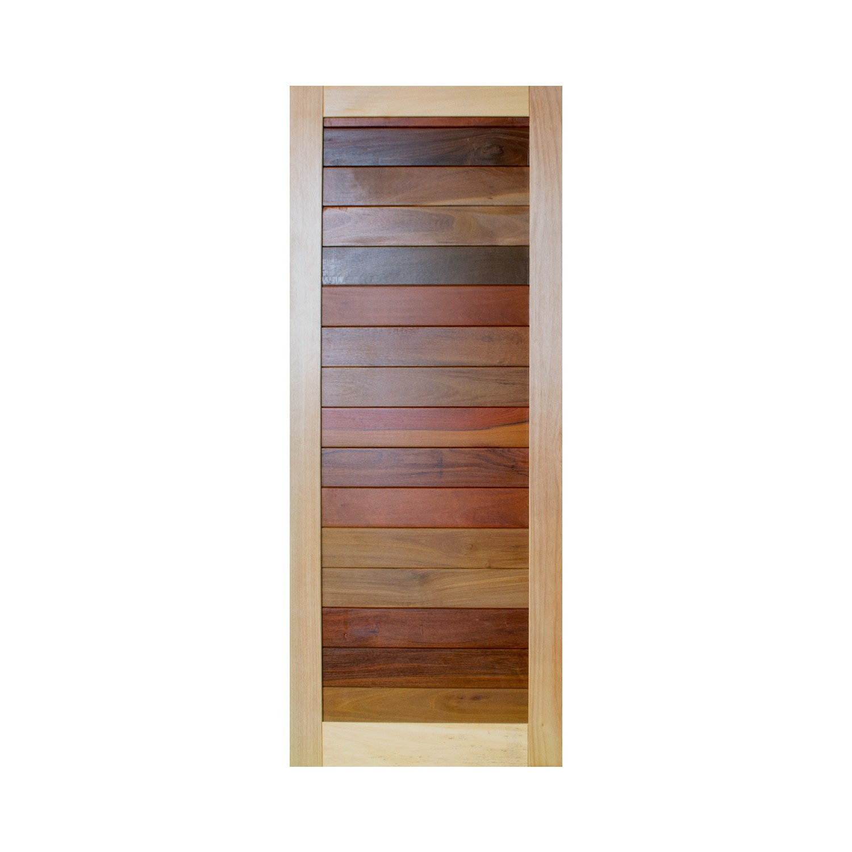 Porta de madeira maciça pm malber 506 - 80x210cm