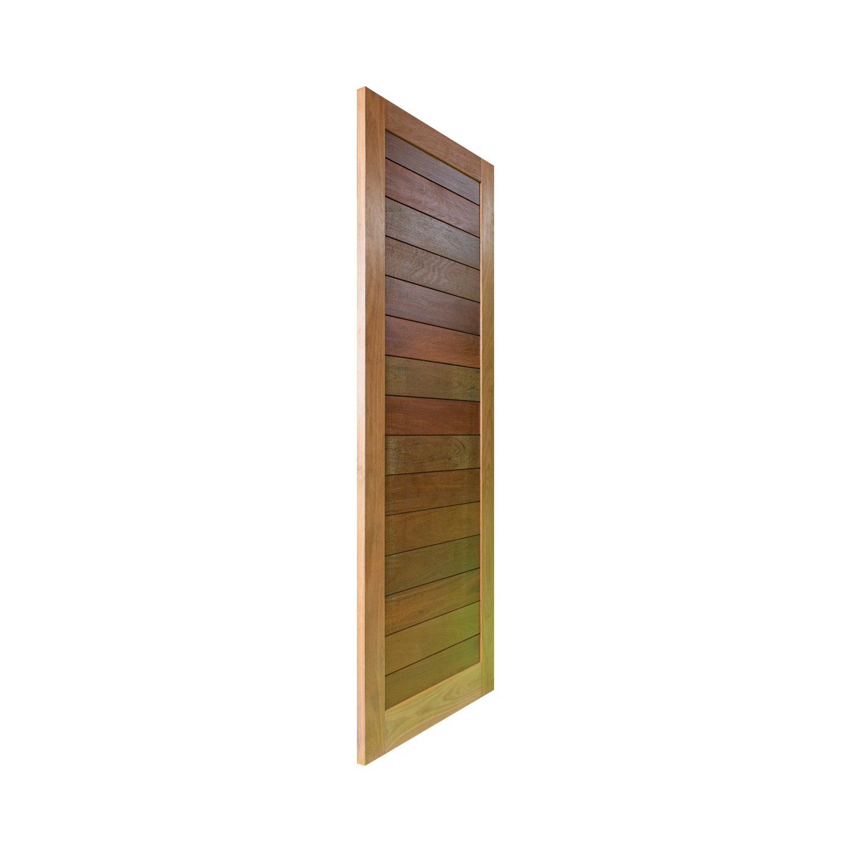 Porta de madeira maciça pm malber 507 - 80x210cm