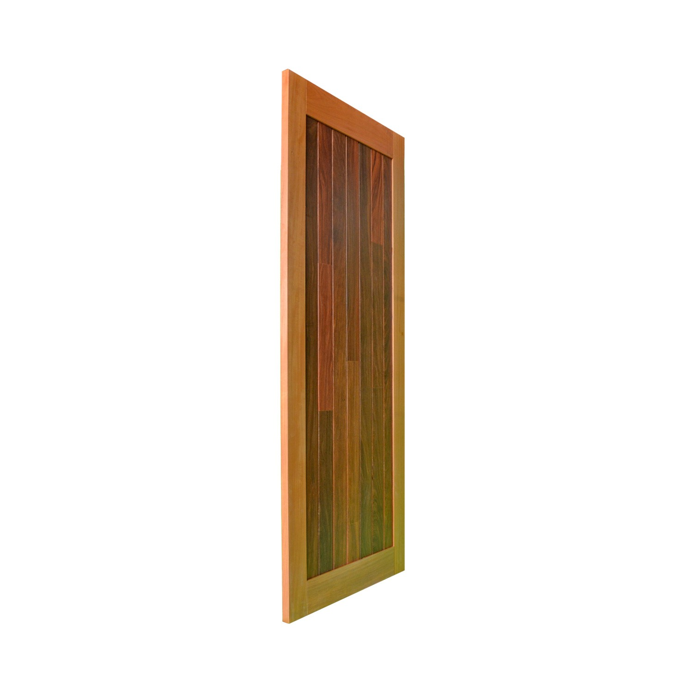 Porta de madeira maciça pm mexicana 500 - 80x210cm