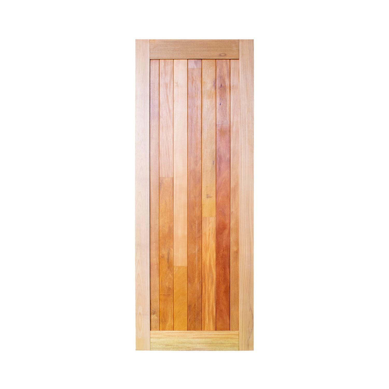 Porta de madeira maciça pm mexicana 502 - 80x210cm