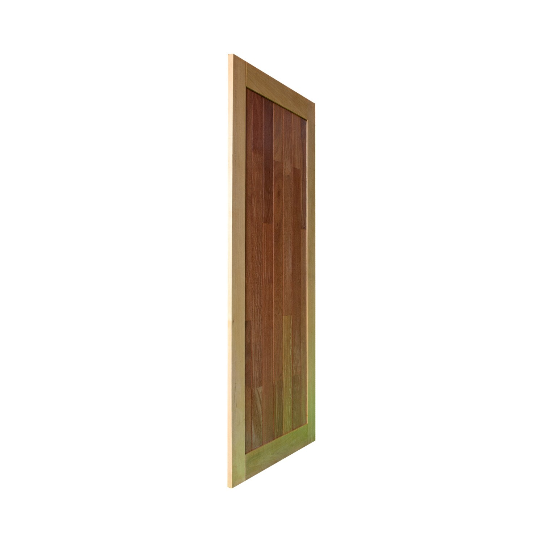 Porta de madeira maciça pm mexicana 503 - 80x210cm