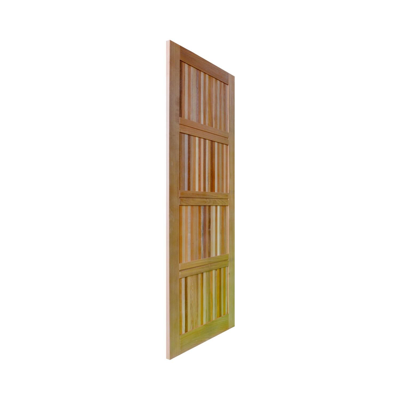 Porta de madeira maciça pm paris 01 504 - 80x210cm