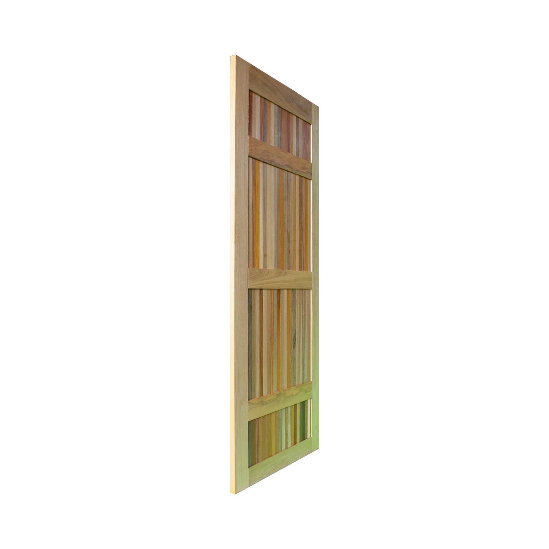 Porta de madeira maciça pm paris 504 - 80x210cm
