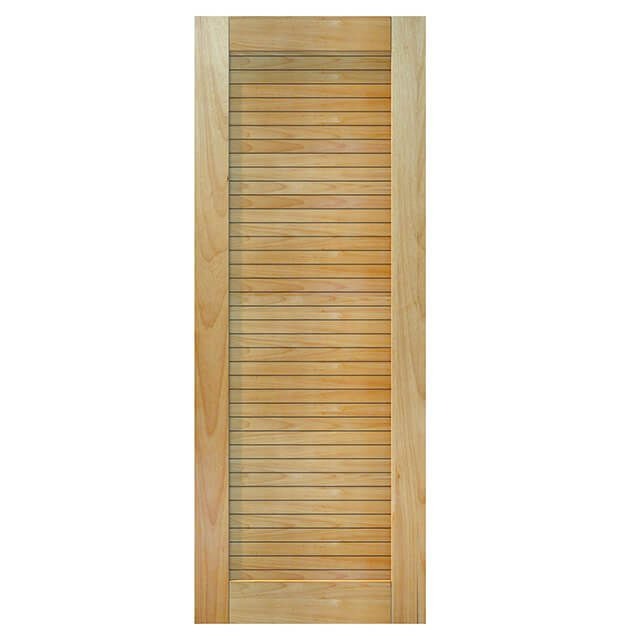 Porta de madeira maciça almofadada modelo pm - line tauari