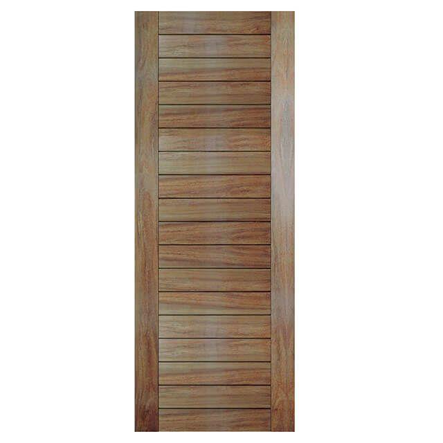 Porta de madeira maciça almofadada modelo pm - Mauber Cumaru