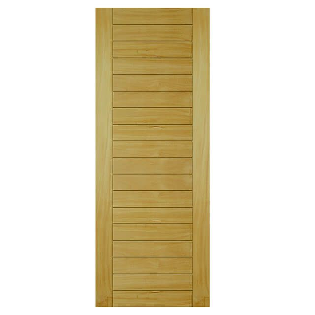 Porta de madeira maciça almofadada modelo pm - mauber Garapeira