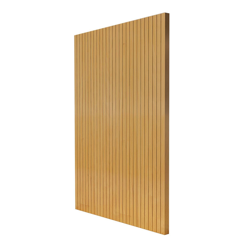 Porta Pivotante de Madeira Modelo pp-Line em Garapeira vertical
