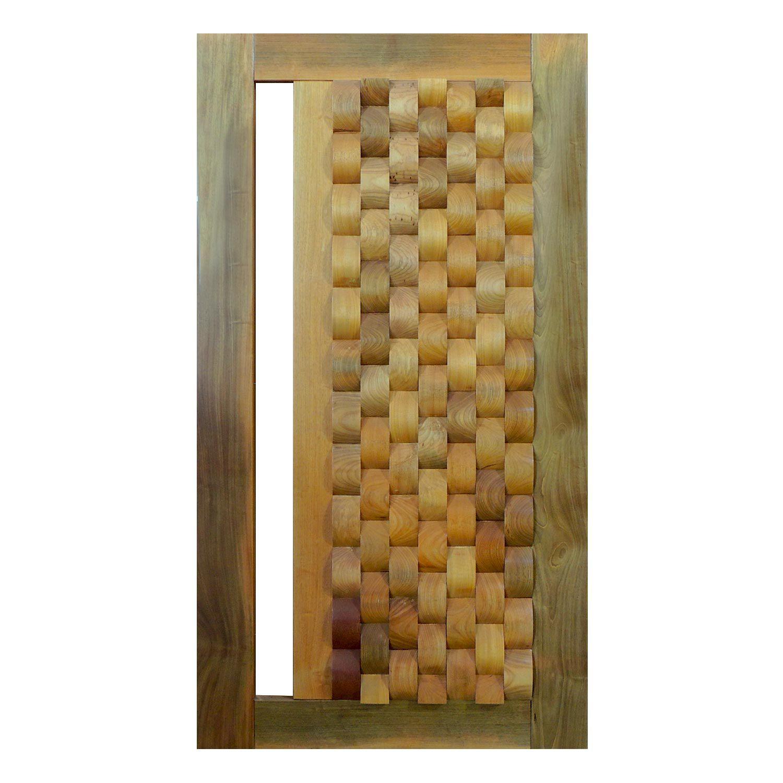 Porta Pivotante de Madeira Modelo pp - Oslo Tauari