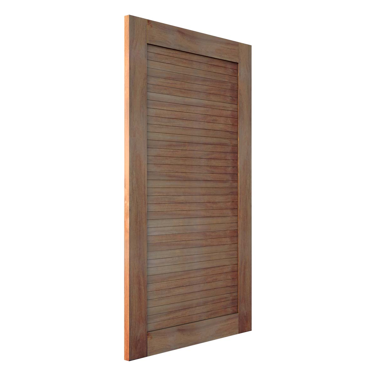 Porta Pivotante Madeira maciça em Cumaru Modelo pp - line com montante