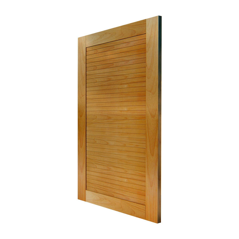 Porta Pivotante Madeira maciça em Tauari Modelo pp - Bella com montante
