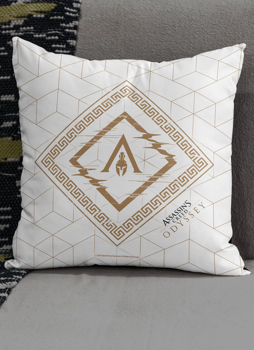 Almofada Assassin's Creed Odyssey Texture White