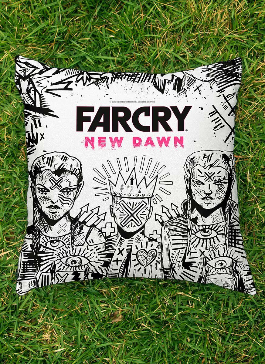 Almofada Far Cry New Dawn Mickey e Lou