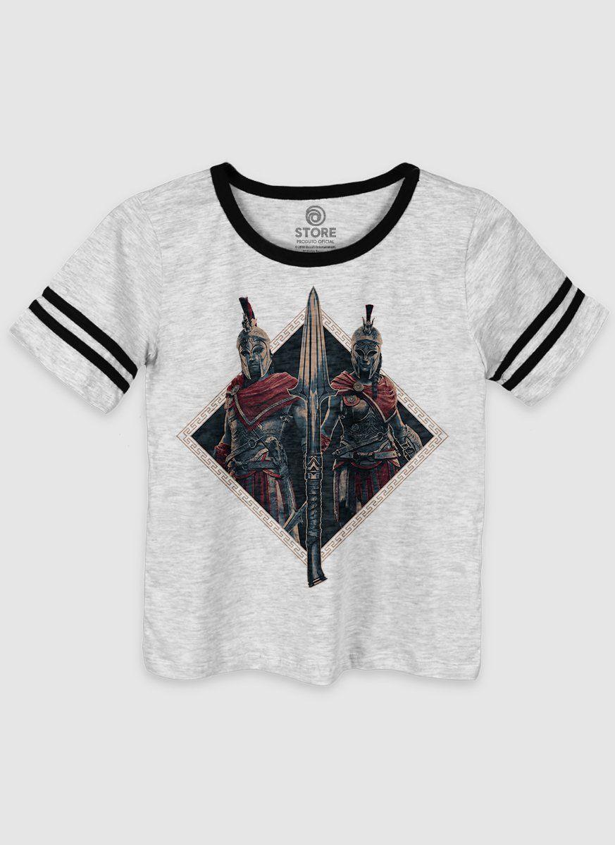 Camiseta Athletic Feminina Assassin's Creed Odyssey Spear
