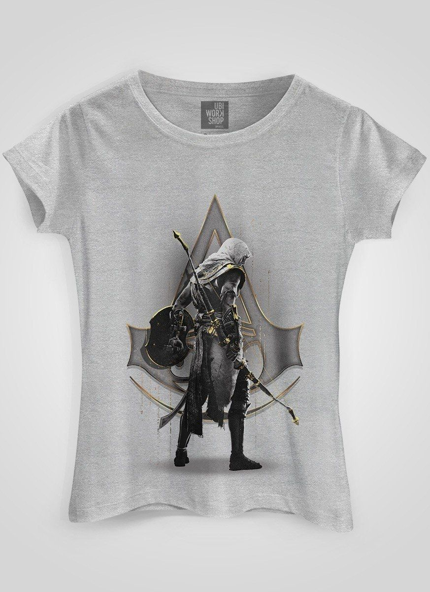 Camiseta Feminina Assassin's Creed Gold