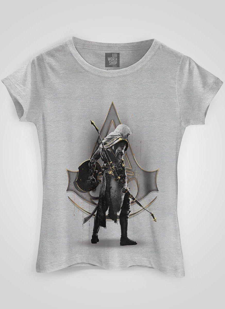 Camiseta Feminina Assassin's Creed Gold