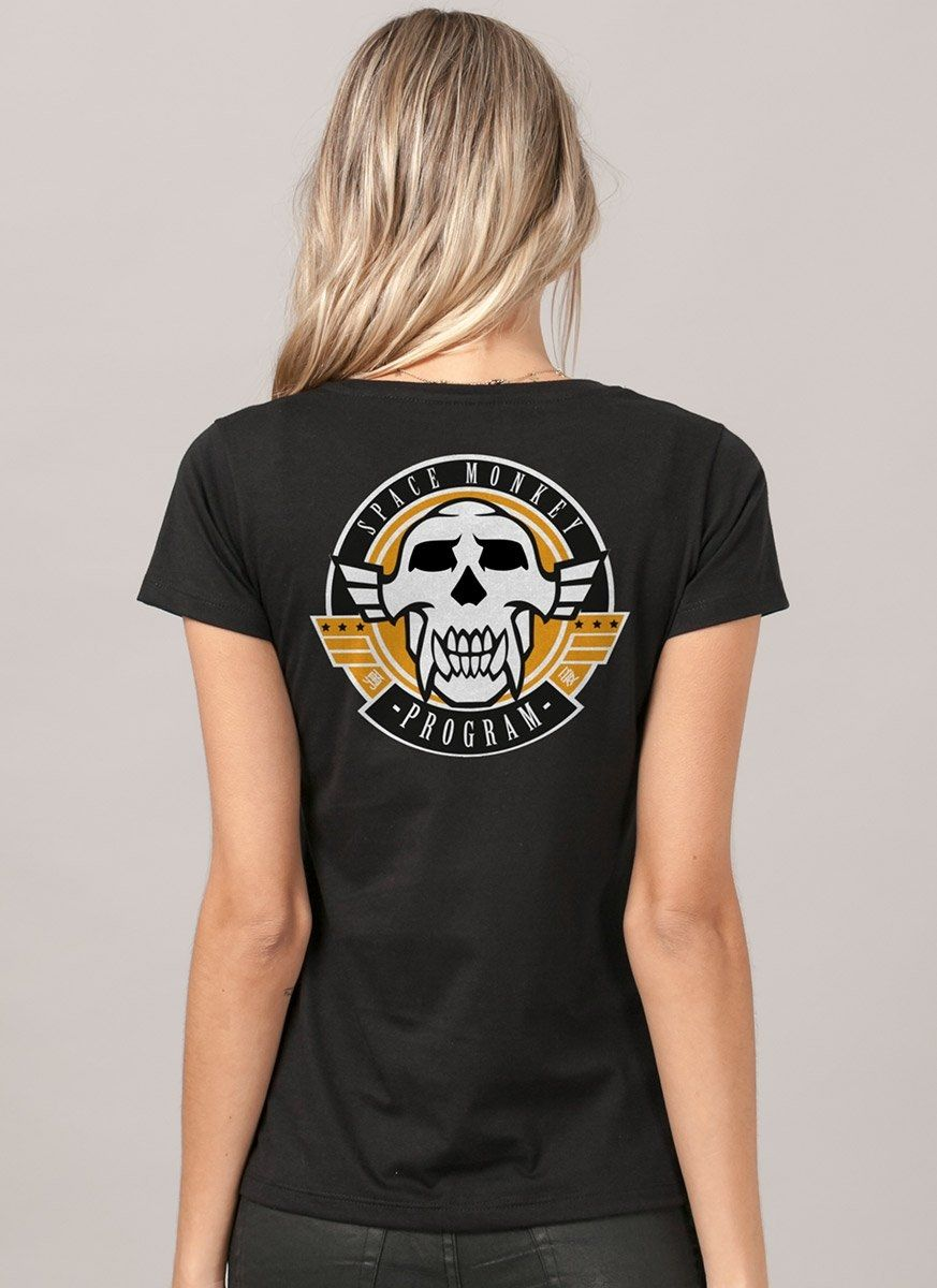 Camiseta Feminina Beyond Good and Evil 2 Space Monkey