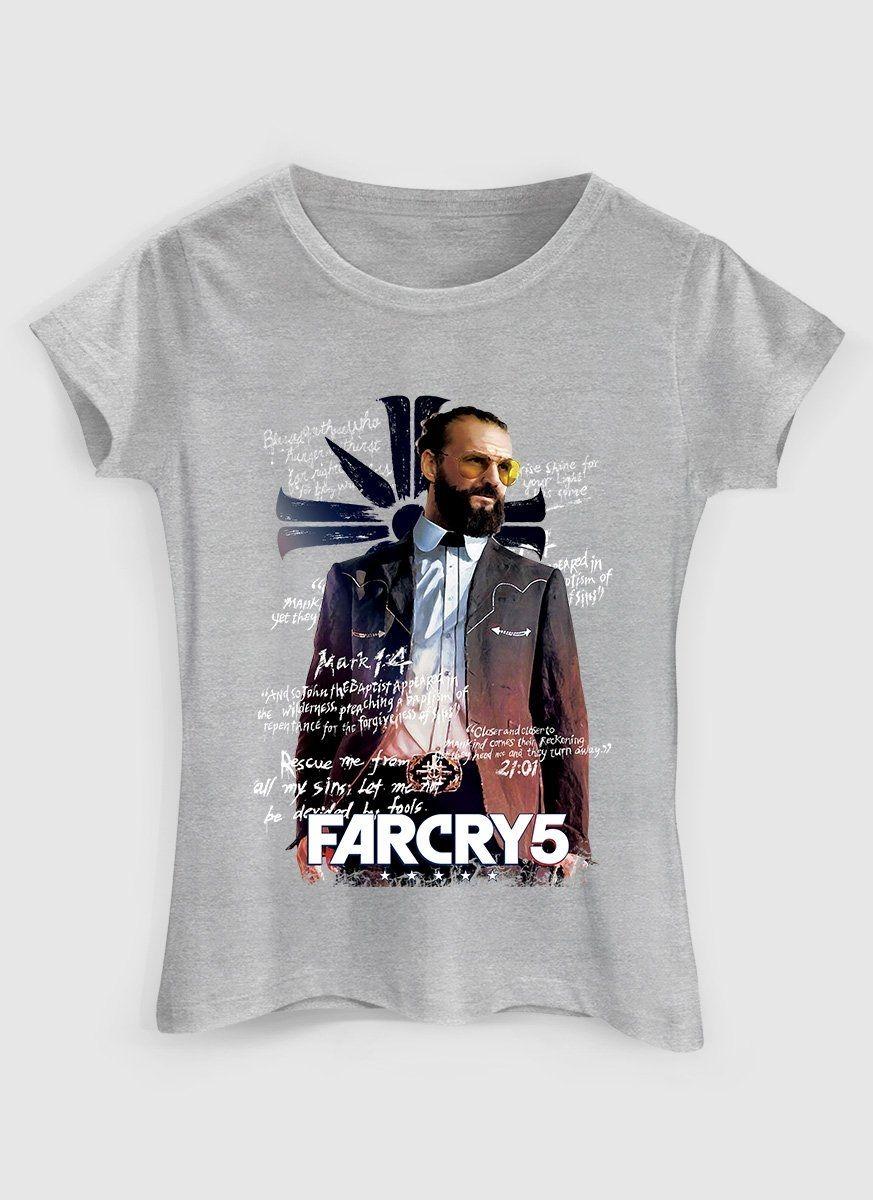 Camiseta Feminina Far Cry 5 Father