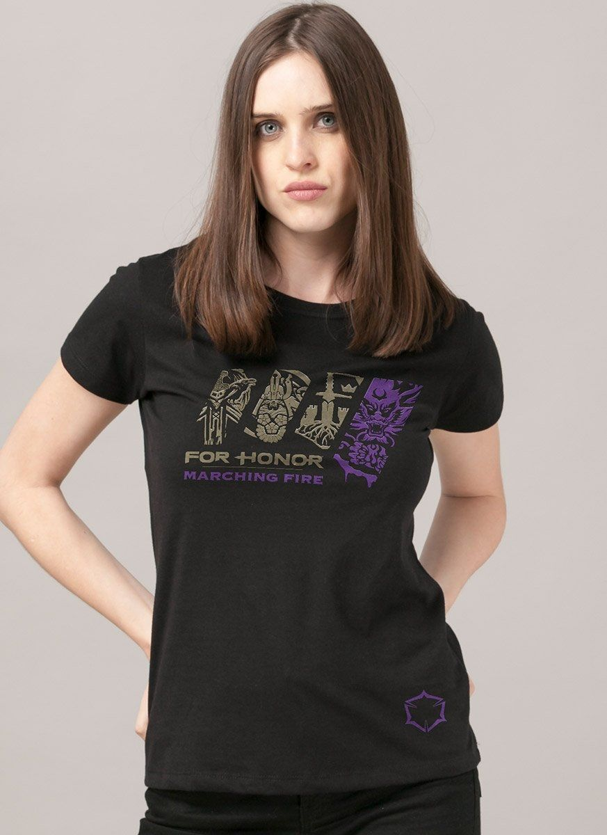 Camiseta Feminina For Honor Marching Fire