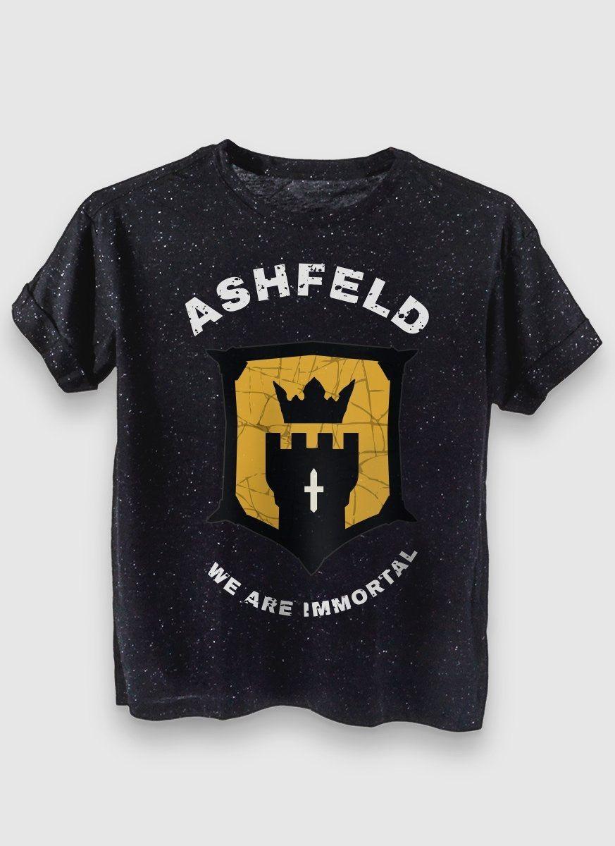 Camiseta Feminina For Honor Type Cavaleiro