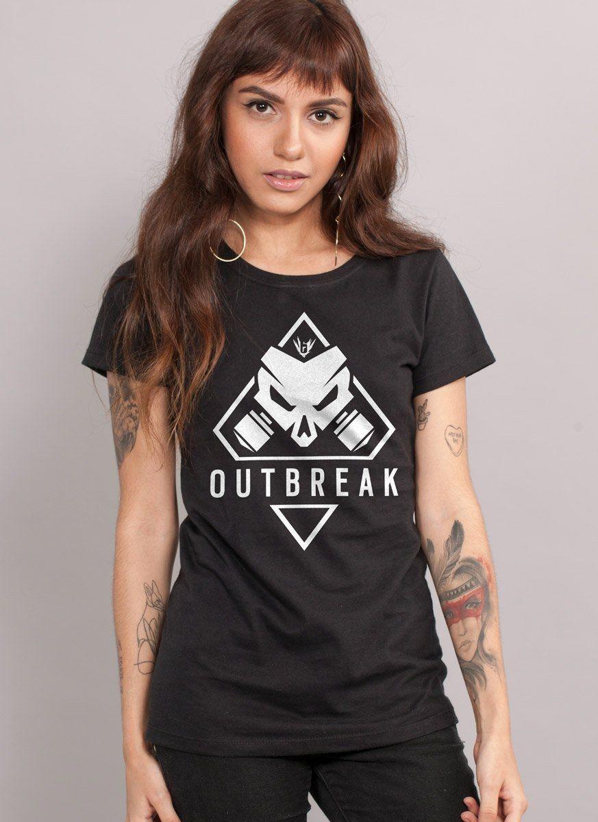 Camiseta Feminina Rainbow Six Outbreak