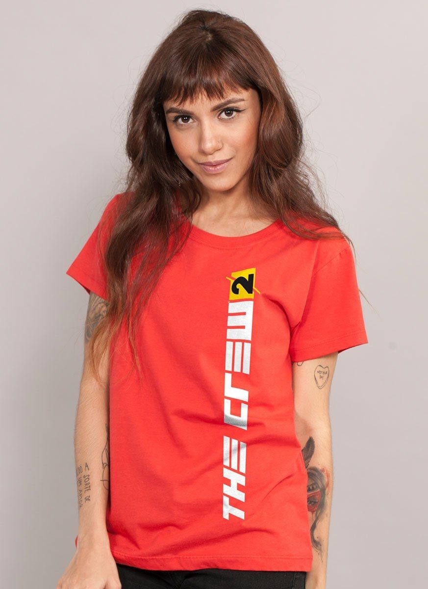Camiseta Feminina The Crew 2 Logo Vertical
