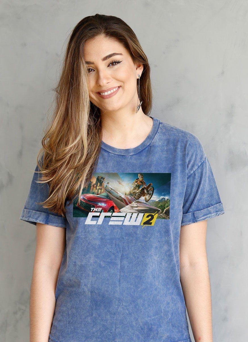 Camiseta Feminina The Crew 2 Wide
