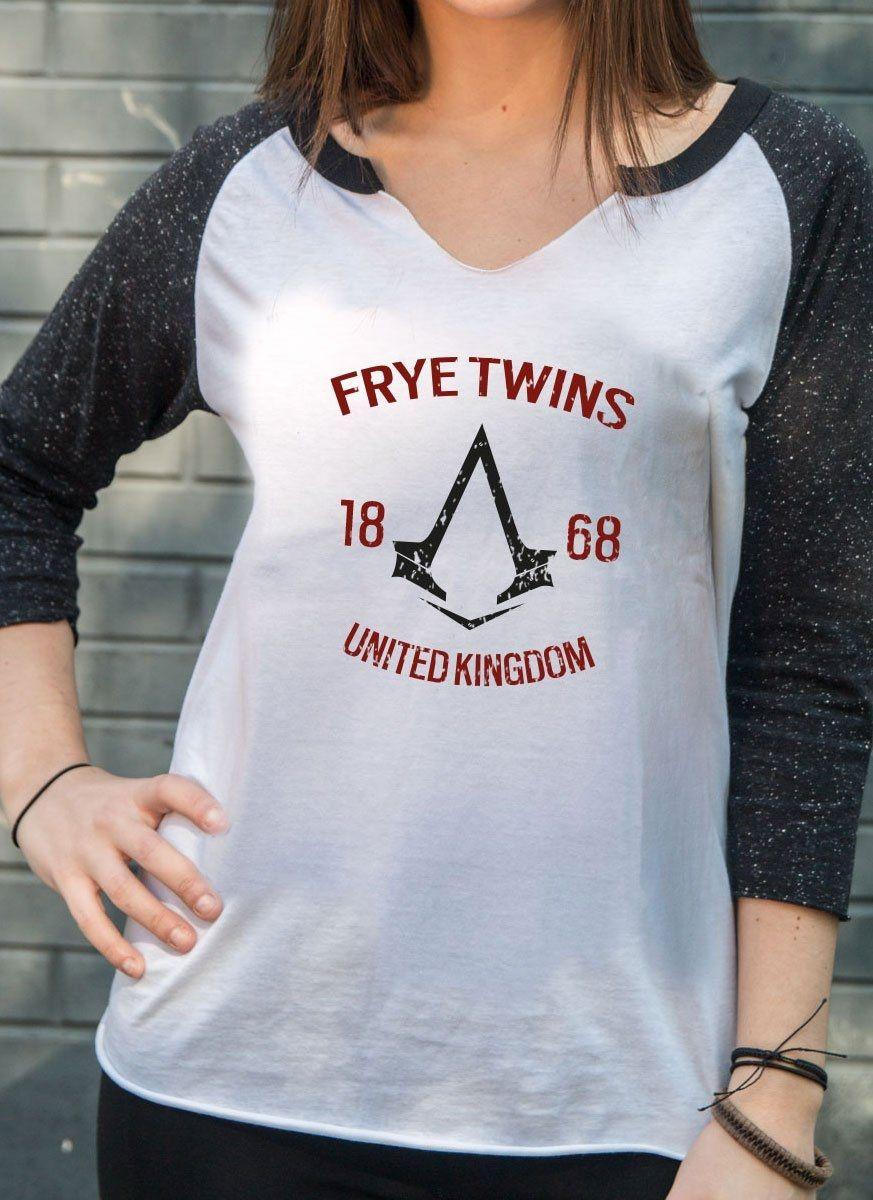 Camiseta Manga Longa Feminina Assassin's Creed Crest Frye
