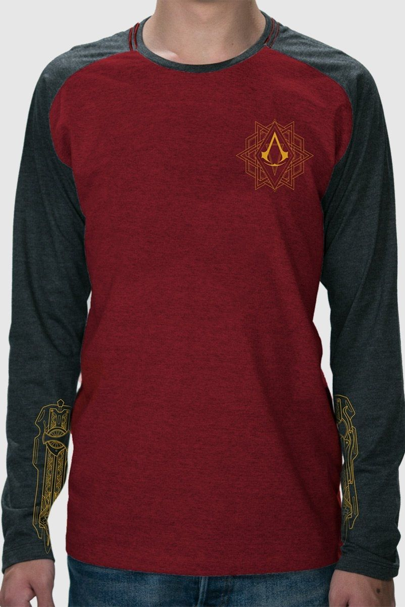 Camiseta Manga Longa Masculina Assassin's Creed O Filme