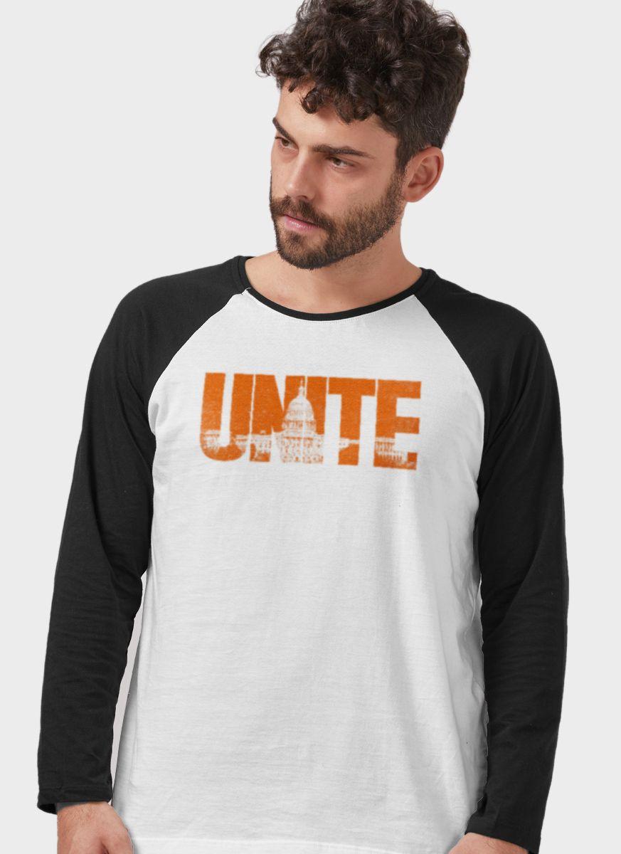 Camiseta Manga Longa Masculina The Division 2 Unite