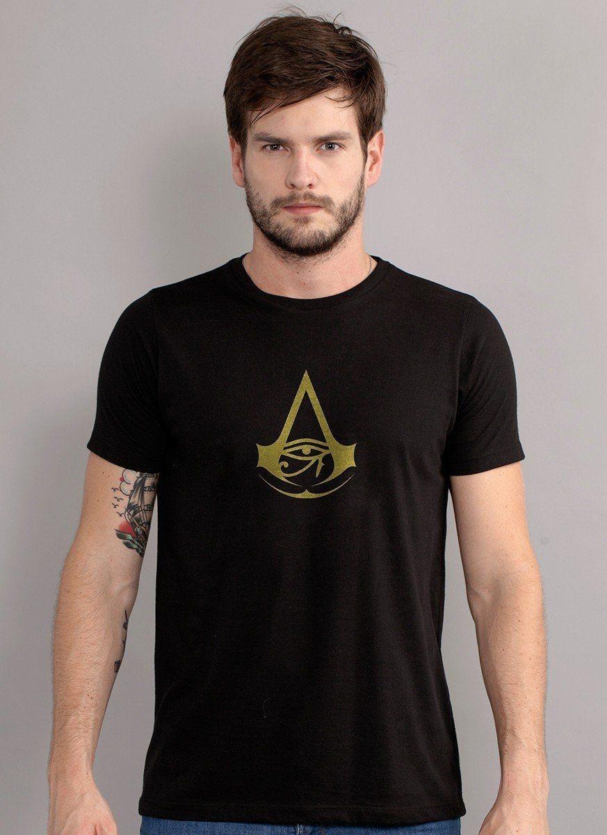 Camiseta Masculina Assassin's Creed Brasão