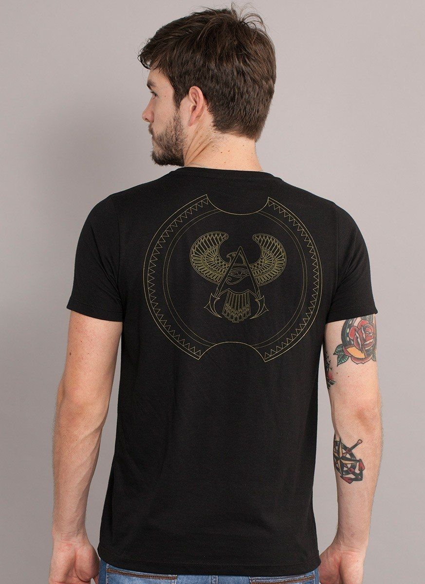 Camiseta Masculina Assassin's Creed Brasão