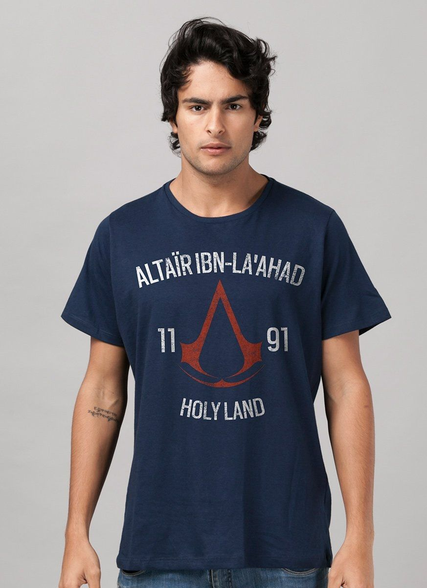 Camiseta Masculina Assassin's Creed Crest Altair