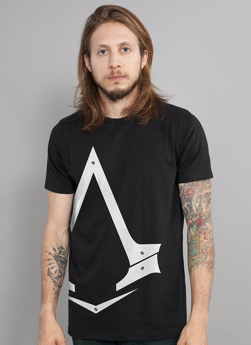 Camiseta Masculina Assassin's Creed Crest Insígnia