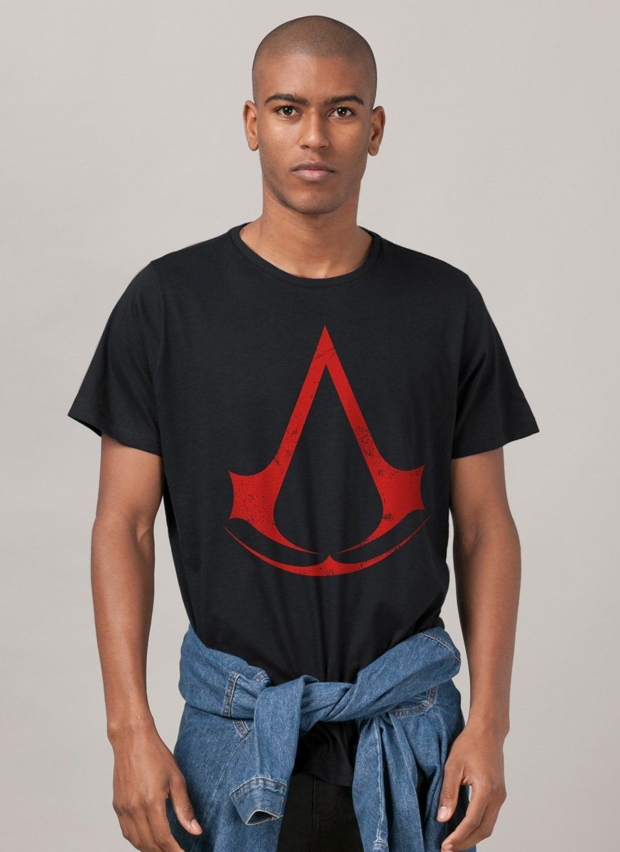 Camiseta Masculina Assassin's Creed Logo