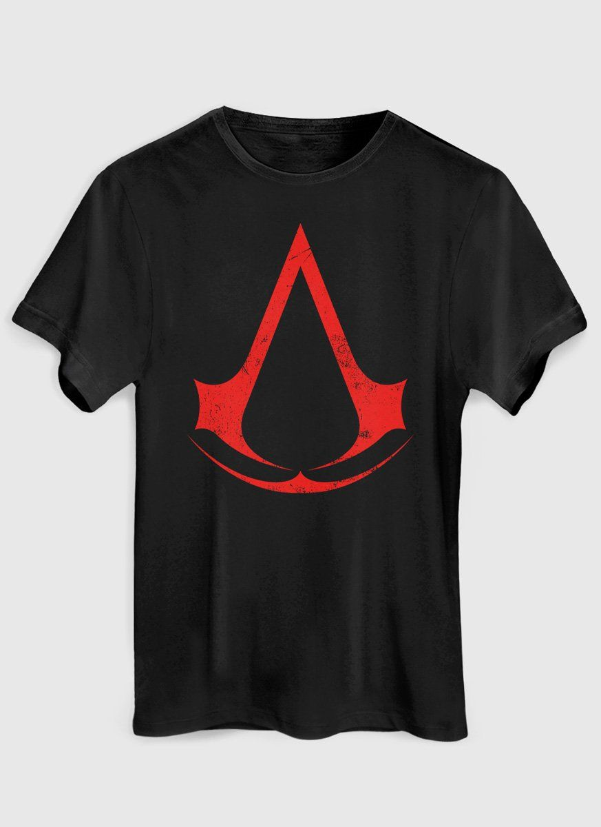 Camiseta Masculina Assassin's Creed Logo