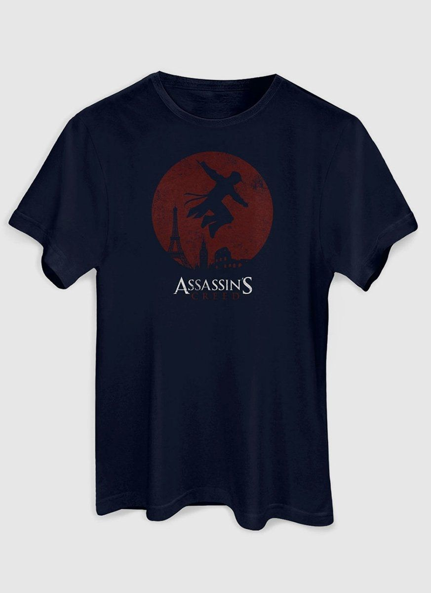 Camiseta Masculina Assassin's Creed Lua