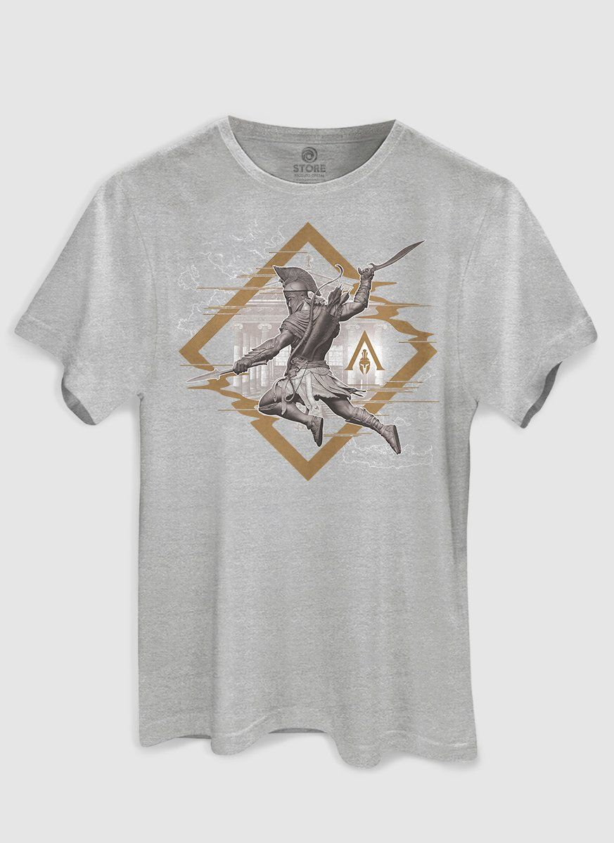 Camiseta Masculina Assassin's Creed Odyssey Glitch