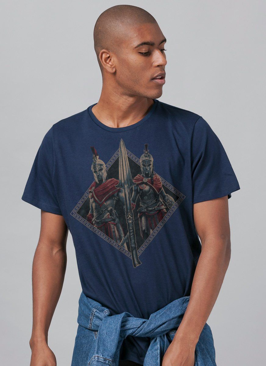 Camiseta Masculina Assassin's Creed Odyssey Spear