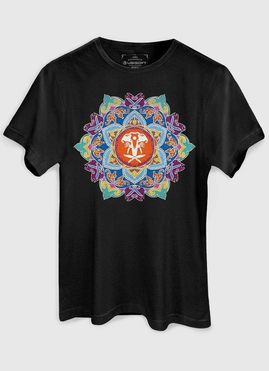 Camiseta Masculina Far Cry 4 Mandala