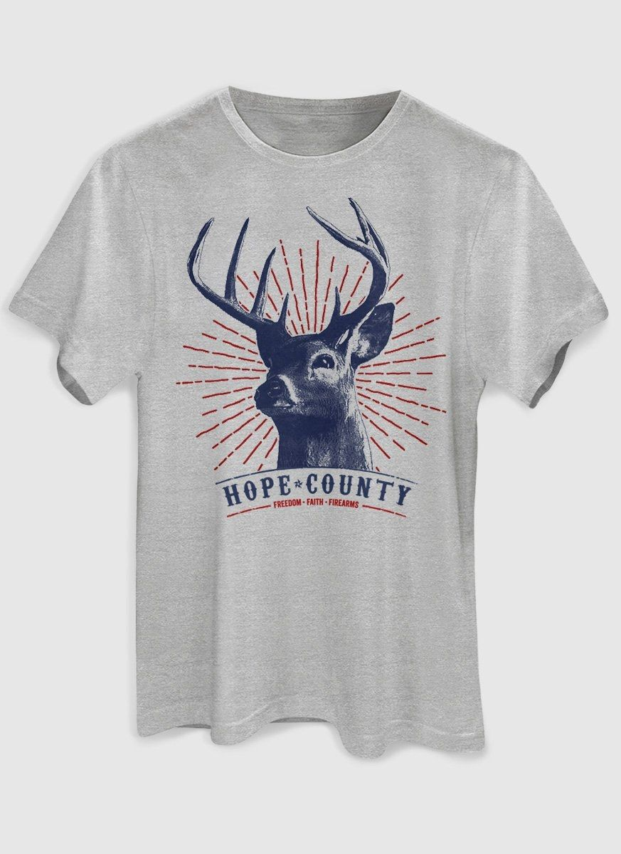 Camiseta Masculina Far Cry 5 Hope County