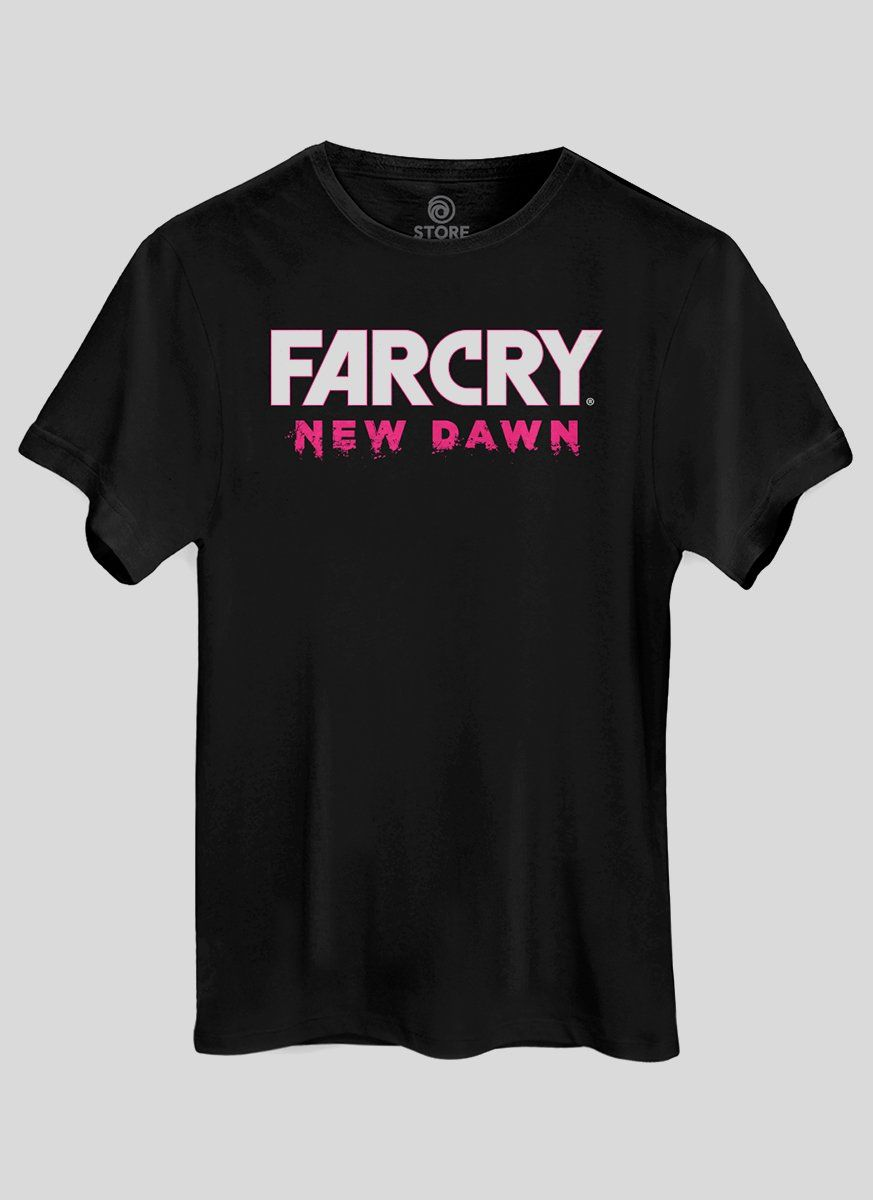 Camiseta Masculina Far Cry New Dawn Logo