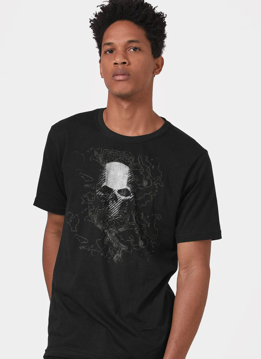 Camiseta Masculina Ghost Recon Breakpoint Black