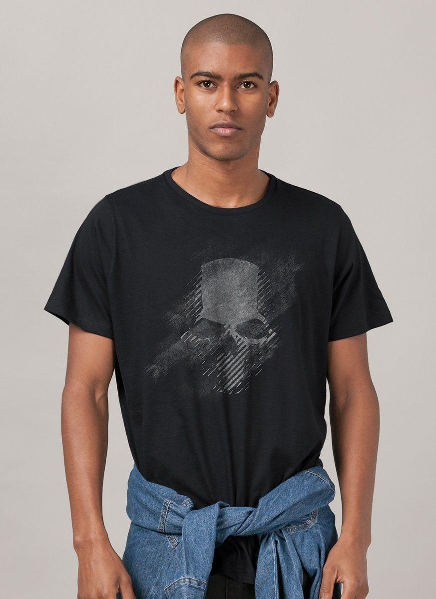 Camiseta Masculina Ghost Recon Wildlands Logo