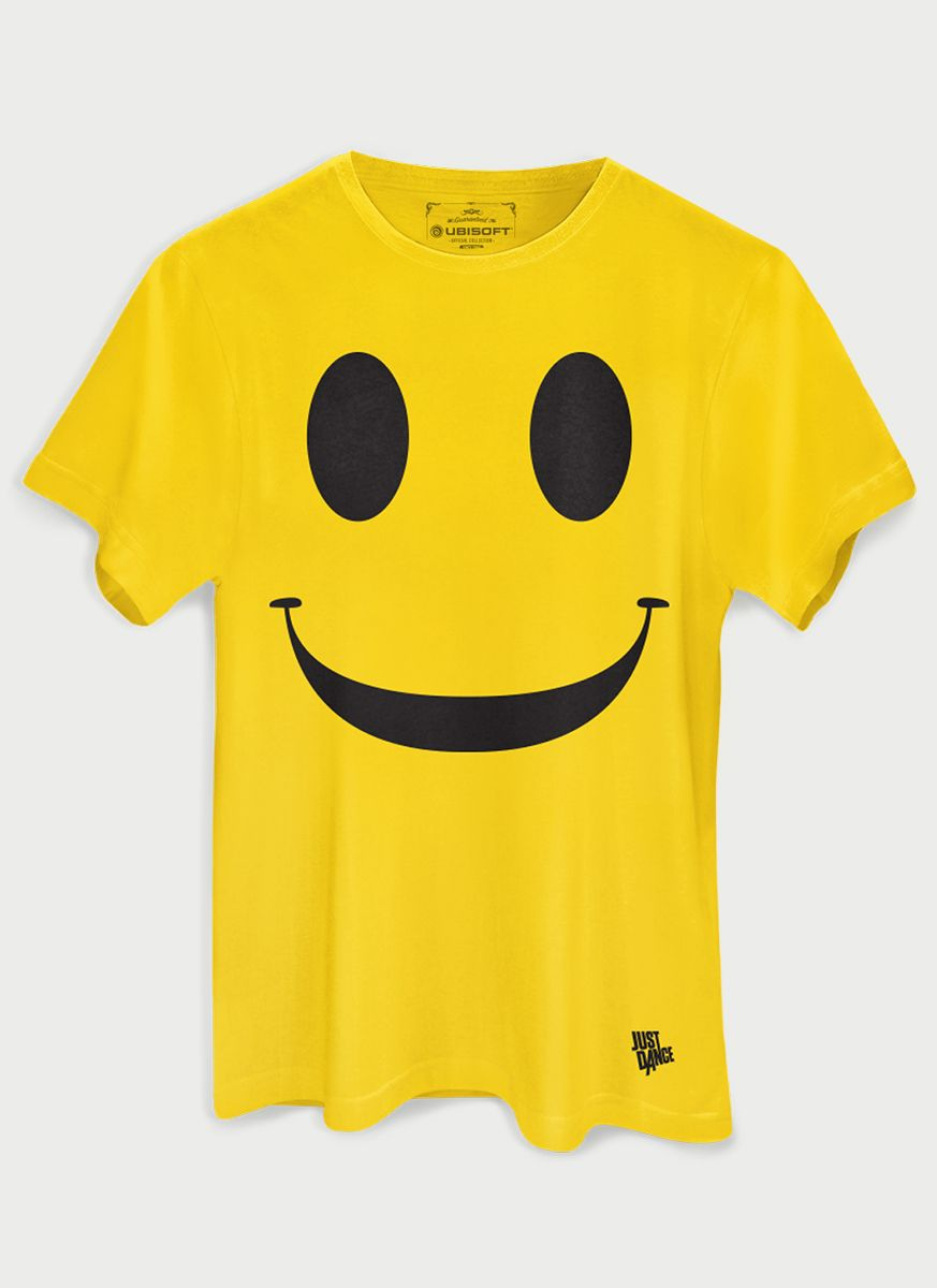 Camiseta Masculina Just Dance Smile