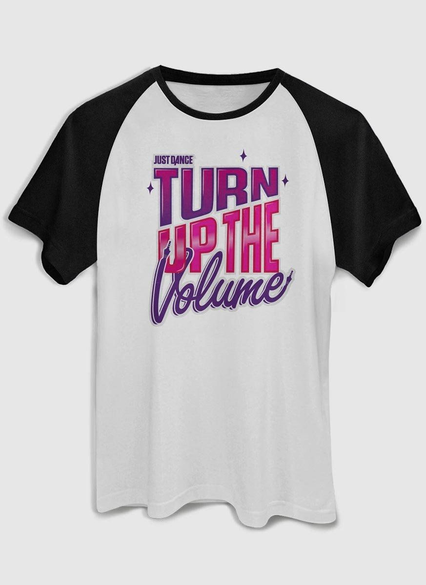 Camiseta Masculina Just Dance Turn Up